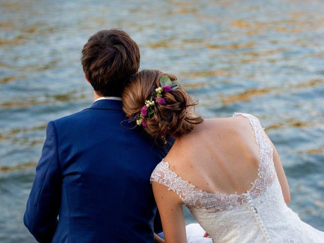 Le mariage de Églantine et François