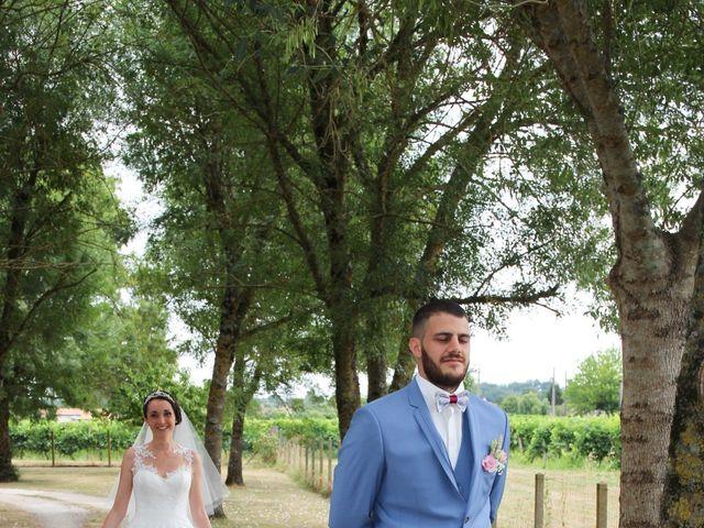 Le mariage de Kévin et Mélissa à Génissac, Gironde 13