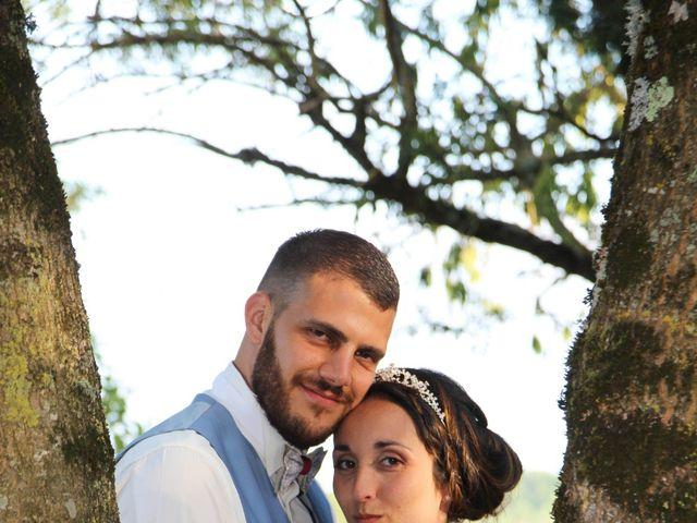 Le mariage de Kévin et Mélissa à Génissac, Gironde 24