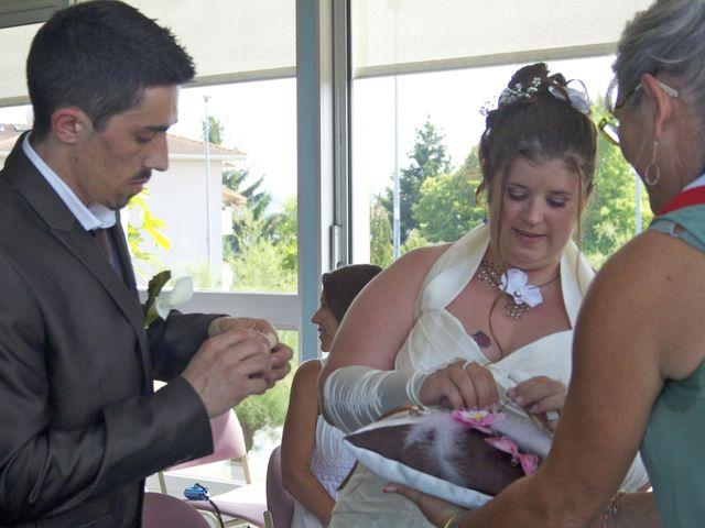 Le mariage de Virginie et Rémi à Bonson, Loire 5