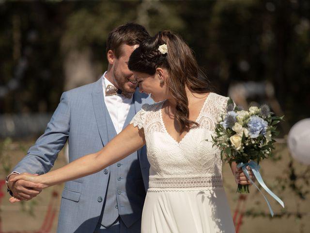 Le mariage de Thibaut et Mathilde à Salleboeuf, Gironde 21