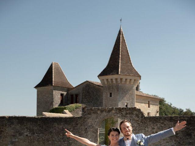 Le mariage de Thibaut et Mathilde à Salleboeuf, Gironde 22