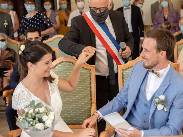 Le mariage de Thibaut et Mathilde à Salleboeuf, Gironde 35