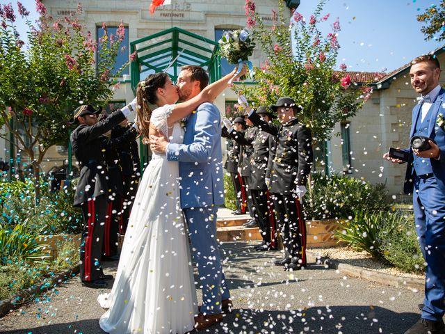 Le mariage de Thibaut et Mathilde à Salleboeuf, Gironde 37