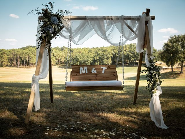 Le mariage de Thibaut et Mathilde à Salleboeuf, Gironde 38