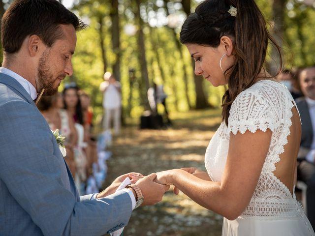 Le mariage de Thibaut et Mathilde à Salleboeuf, Gironde 46