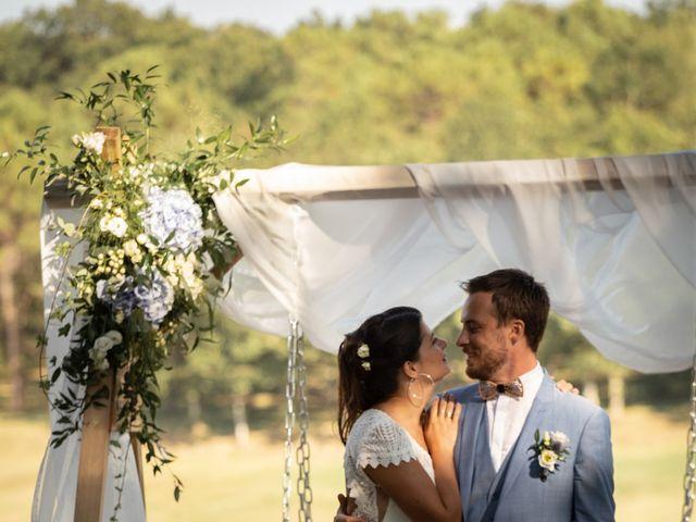 Le mariage de Thibaut et Mathilde à Salleboeuf, Gironde 47
