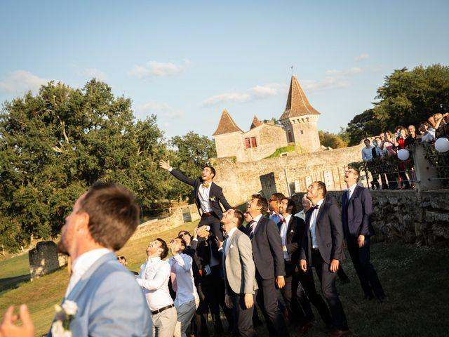 Le mariage de Thibaut et Mathilde à Salleboeuf, Gironde 70