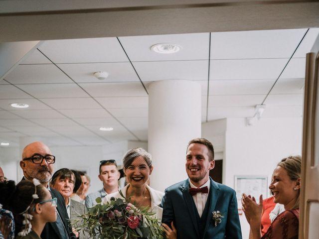 Le mariage de Jérome et Mathilde à Gourin, Morbihan 8