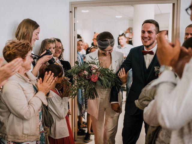Le mariage de Jérome et Mathilde à Gourin, Morbihan 9