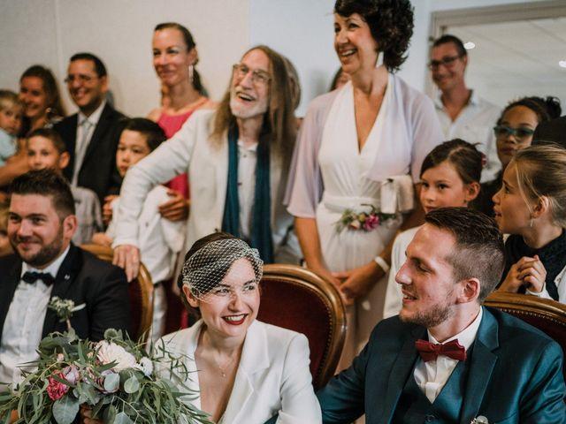 Le mariage de Jérome et Mathilde à Gourin, Morbihan 10