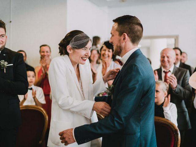 Le mariage de Jérome et Mathilde à Gourin, Morbihan 18