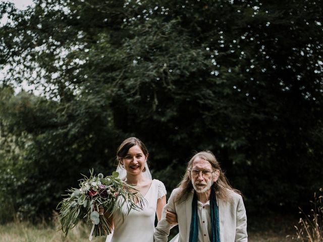 Le mariage de Jérome et Mathilde à Gourin, Morbihan 48