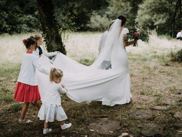 Le mariage de Jérome et Mathilde à Gourin, Morbihan 49