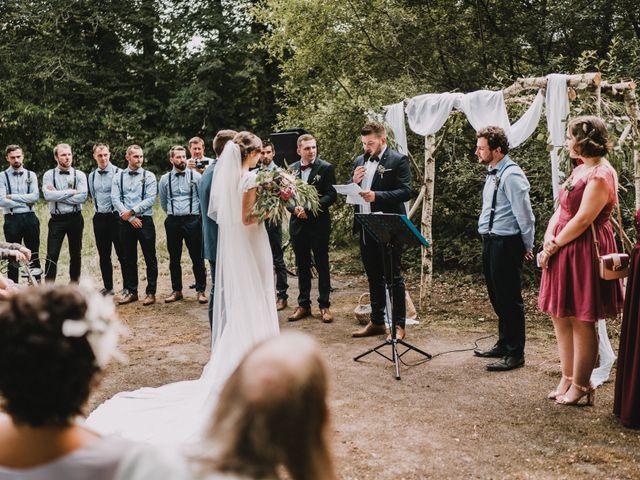 Le mariage de Jérome et Mathilde à Gourin, Morbihan 70
