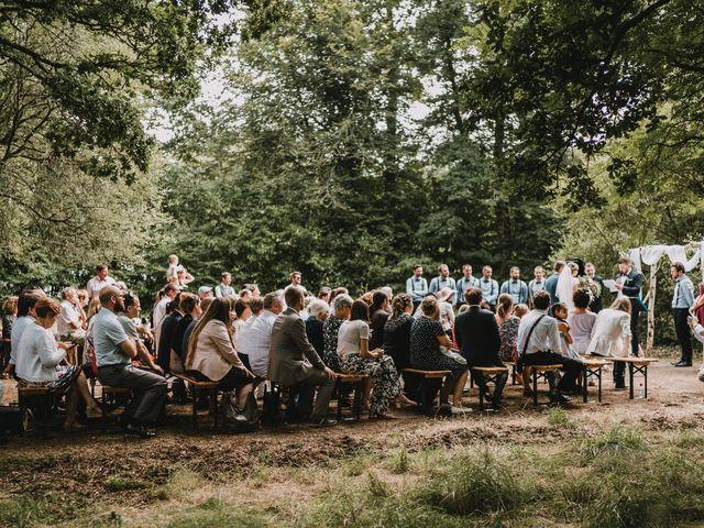 Le mariage de Jérome et Mathilde à Gourin, Morbihan 72