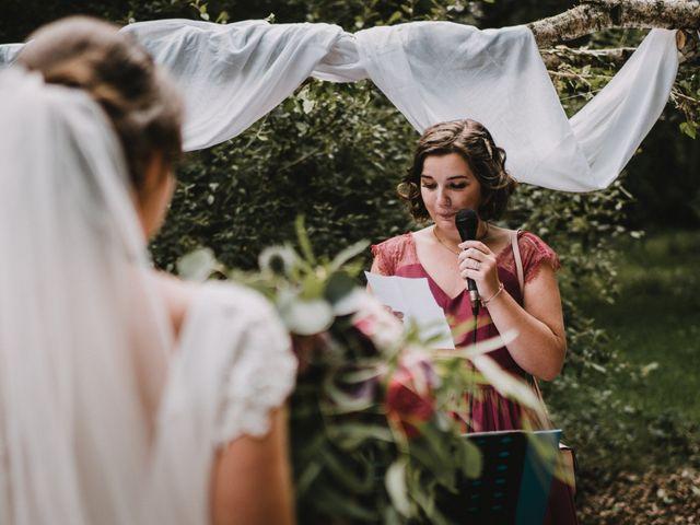 Le mariage de Jérome et Mathilde à Gourin, Morbihan 73