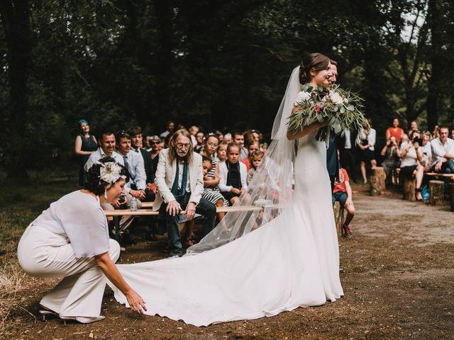 Le mariage de Jérome et Mathilde à Gourin, Morbihan 79