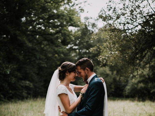 Le mariage de Jérome et Mathilde à Gourin, Morbihan 1