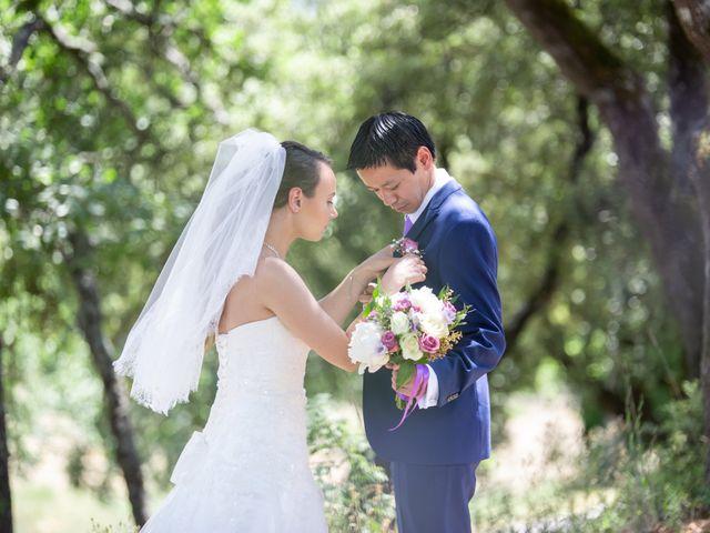 Le mariage de Hoa et Elodie à Mirabeau, Vaucluse 26