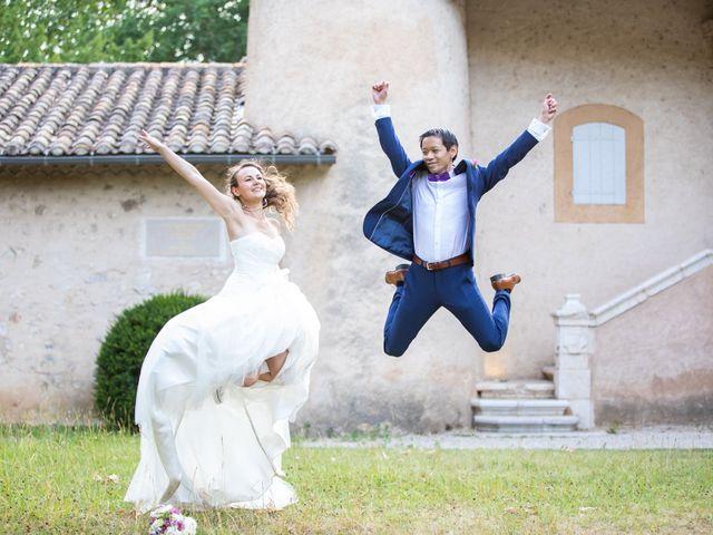 Le mariage de Hoa et Elodie à Mirabeau, Vaucluse 44
