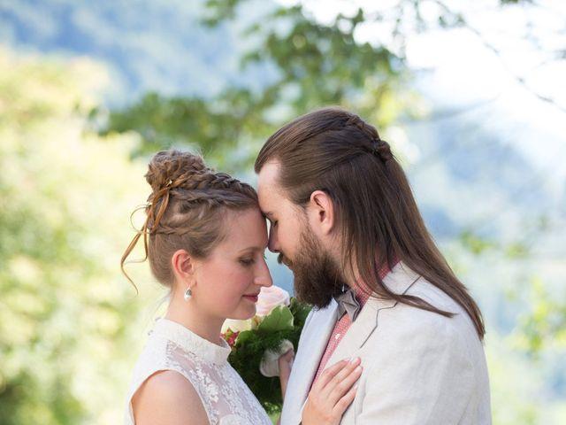 Le mariage de Nicolas et Yulia à Arvillard, Savoie 24