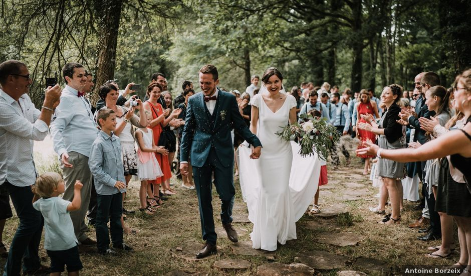 Le mariage de Jérome et Mathilde à Gourin, Morbihan
