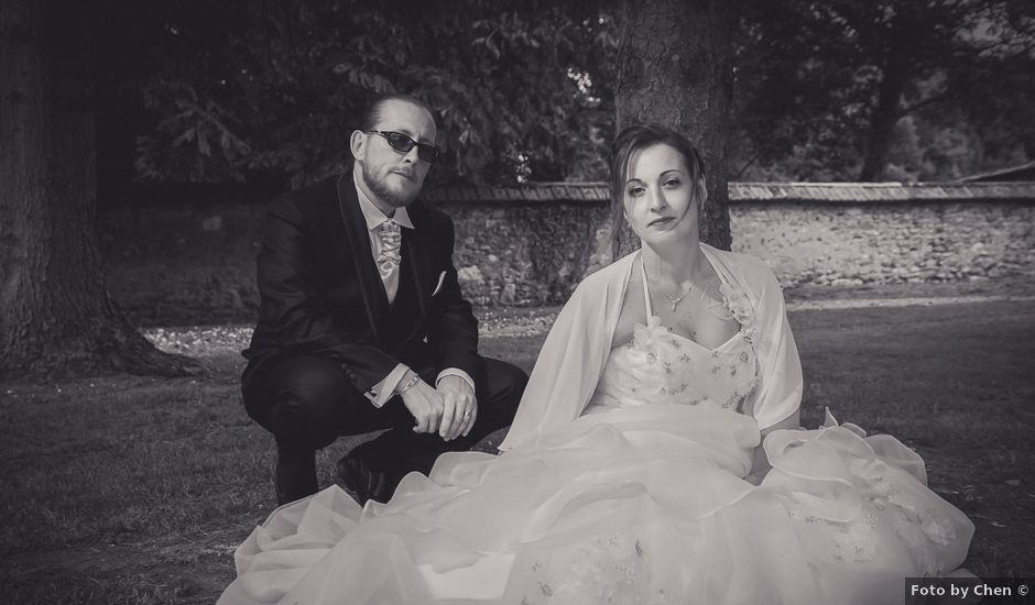Le mariage de Franck et Emilie à Saint-Pierre-la-Garenne, Eure
