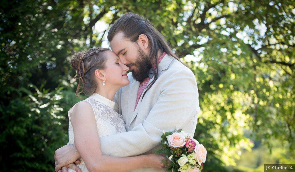 Le mariage de Nicolas et Yulia à Arvillard, Savoie