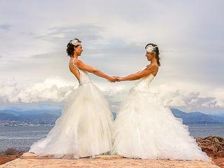 Le mariage de Cynthia et Céline