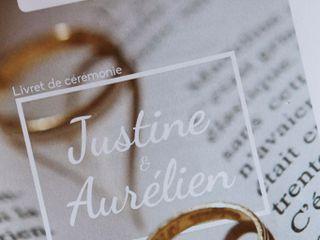 Le mariage de Justine et Aurélien 1