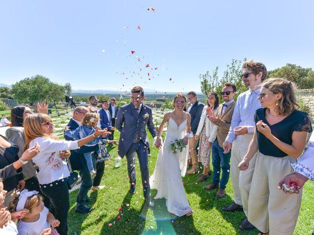 Le mariage de Fabien et Elsa à Grignan, Drôme 16