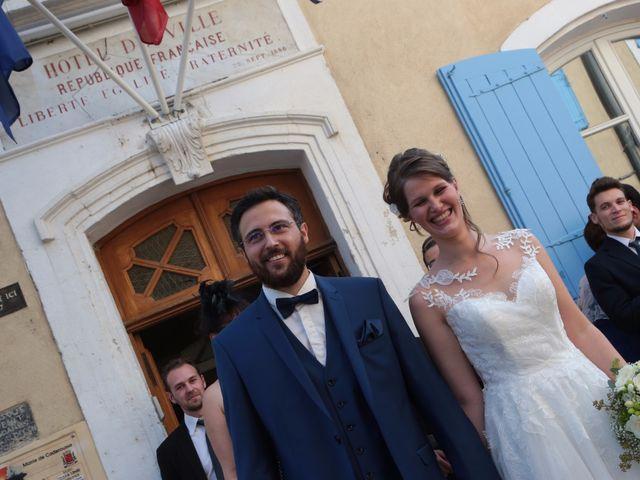 Le mariage de Aurélien et Justine à Caderousse, Vaucluse 17