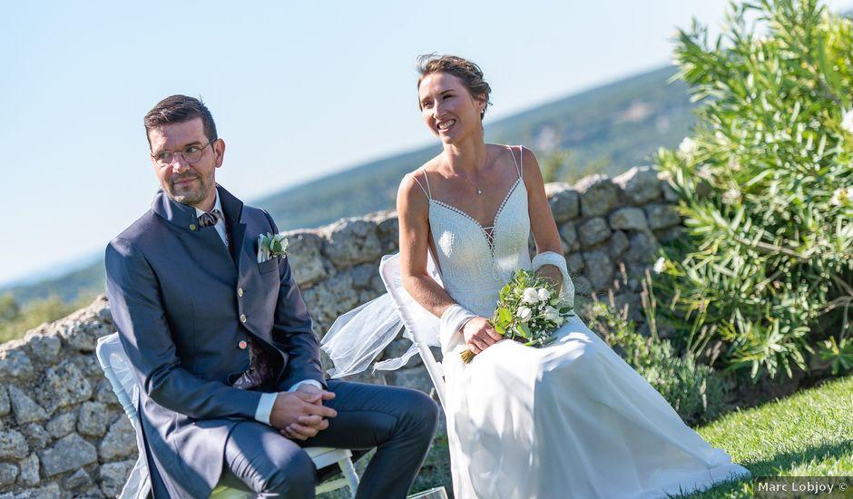 Le mariage de Fabien et Elsa à Grignan, Drôme
