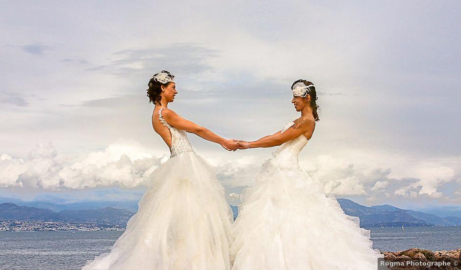 Le mariage de Céline et Cynthia à Antibes, Alpes-Maritimes