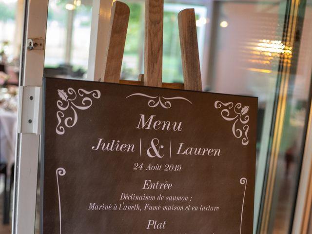 Le mariage de Julien et Lauren à Fourges, Eure 26