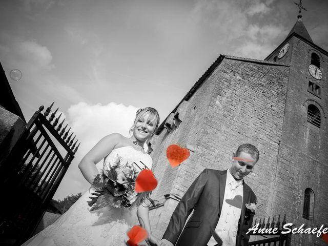 Le mariage de Sandrine et Julien à Nouillonpont, Meuse 3