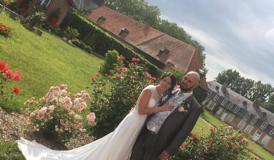 Le mariage de Quentier et Camille à Quevauvillers, Somme