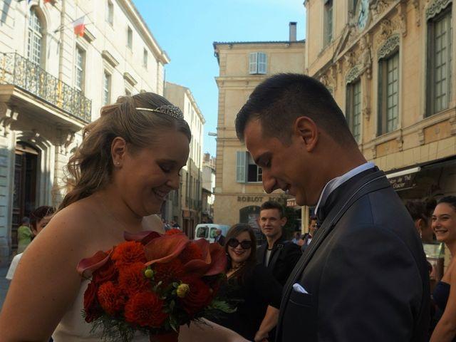 Le mariage de Guillaume et Marjorie à Nîmes, Gard 15