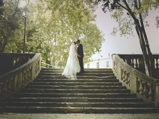 Le mariage de Guillaume et Elodie à Lédenon, Gard 13
