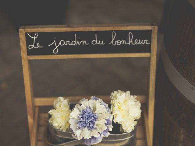 Le mariage de Guillaume et Elodie à Lédenon, Gard 44