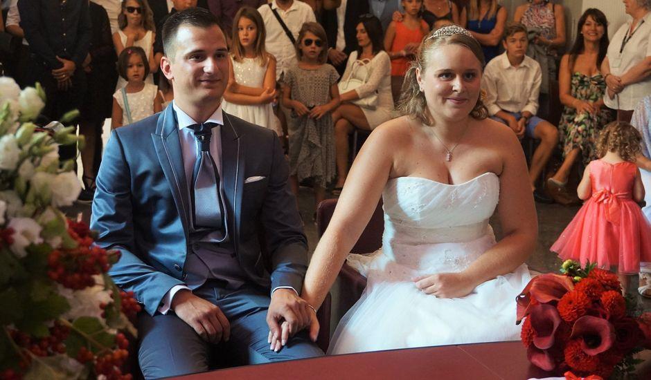 Le mariage de Guillaume et Marjorie à Nîmes, Gard