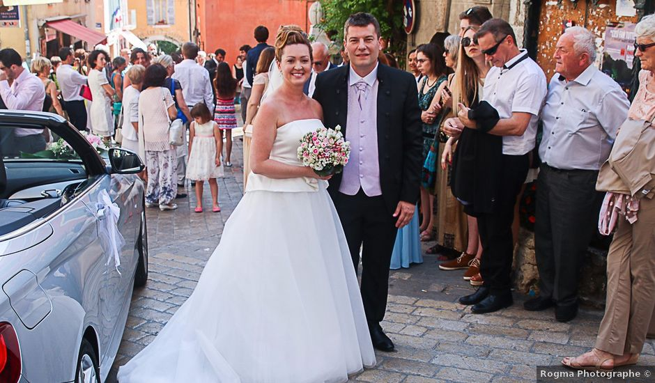 Le mariage de Guillaume et Solange à Valbonne, Alpes-Maritimes