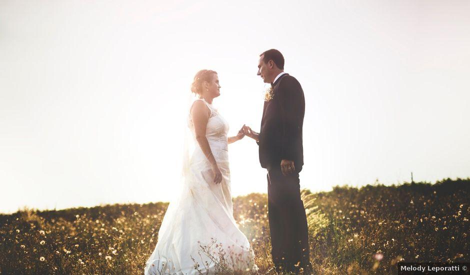 Le mariage de Guillaume et Elodie à Lédenon, Gard