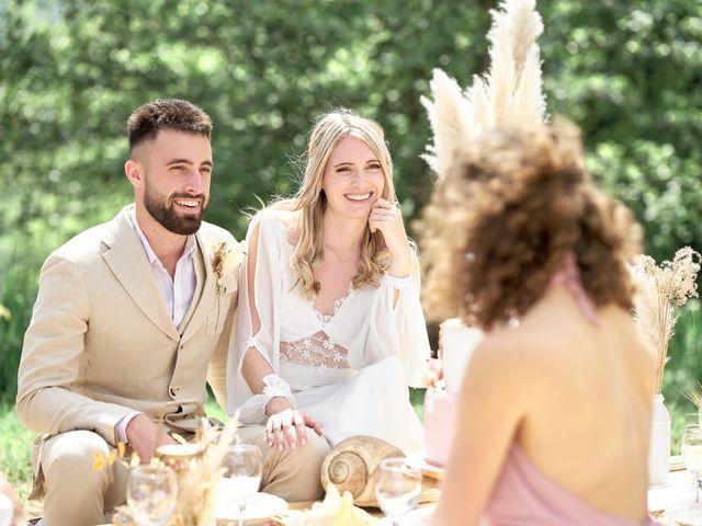 Le mariage de Romain et Camille à Cublize, Rhône 12