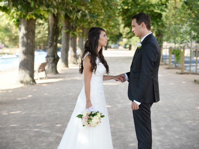 Le mariage de Valentin et Amélie à Massieux, Ain 6