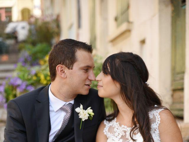 Le mariage de Valentin et Amélie à Massieux, Ain 11