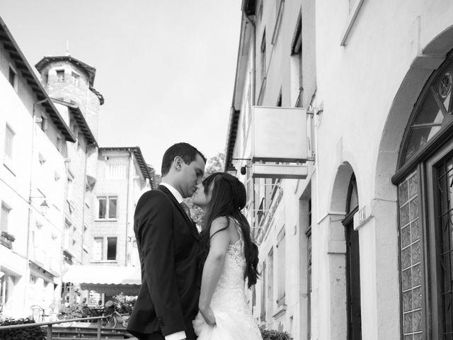 Le mariage de Valentin et Amélie à Massieux, Ain 15