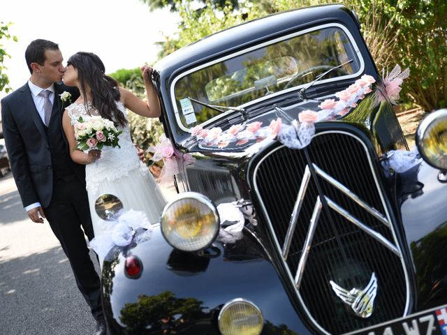 Le mariage de Valentin et Amélie à Massieux, Ain 17