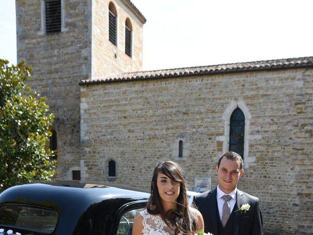 Le mariage de Valentin et Amélie à Massieux, Ain 20